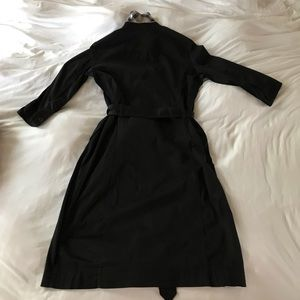 Burberry Dresses - Burberry Shirtdress with 1/2 Sleeves & Tie-waist